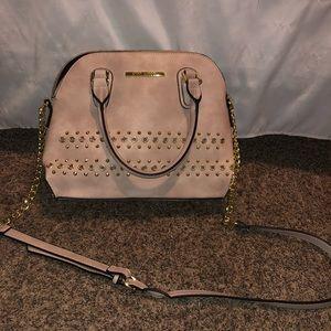 Steve Madden pink over the shoulder purse
